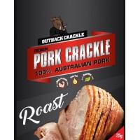 Outback Crackle Roast Pork Crackle 10 individual bags